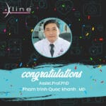 Appointment of Professor Dr. Khanh as international trainer for Xline